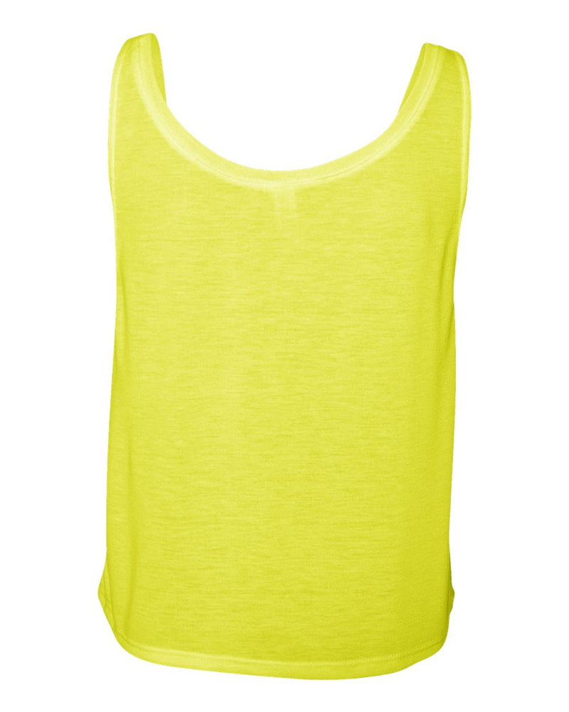 X League Football Neon Yellow Tank
