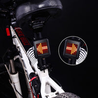 Intelligent USB Recharging Bicycle Direction Indicator Light