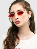Statement Metal Full Frame Steampunk Sunglasses