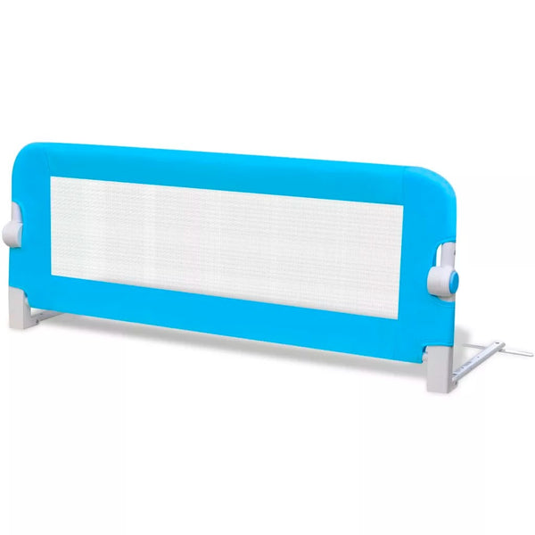 vidaXL Toddler Safety Bed Rail 102 x 42 cm Blue   10103