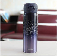 Design Double Wall Stainless Steel Vacuum Flasks 500ml Thermos Cup Coffee Tea Milk Travel Mug Thermo Bottle Thermocup