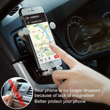 Gravity Car Phone Holder Air Vent Mount Cell Smartphone Holder For iPhone XR Samsung Huawei In Car Mobile Phone Holder Stand GPS