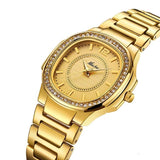 Women Fashion Watches Geneva Designer Ladies Luxury Diamond Quartz
