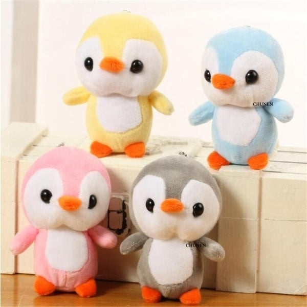 Size 10CM Approx. , animal stuffed Plush Toys penguin plush doll