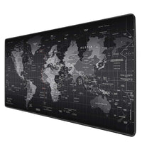 World Map Mouse Pad Gaming Large Mousepad Gamer Big Computer Mouse Mat Office Desk Mat Keyboard Pad Mause Pad for Game