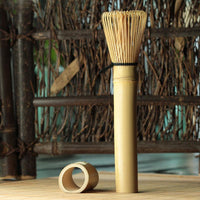 1PC Matcha Green Tea Powder Whisk Matcha Bamboo Whisk Bamboo Chasen Useful Brush Tools Kitchen Accessories
