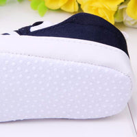 WEIXINBUY Baby Boys Shoes Infant Slip-On First Walkers Toddler Striped Canvas Sneaker bebek ayakkabi