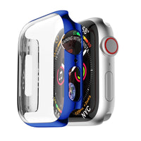 Protective Case For Apple Watch 5 4 3 iwatch band 42mm 38mm 44mm 40mm bumper Cover screen protector PC plating waterproof Shell