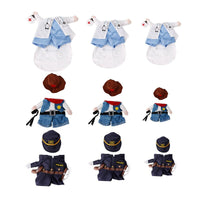 Funny Pet Costume Dog Cat Costume Clothes Dress Apparel Doctor Policeman Cowboy