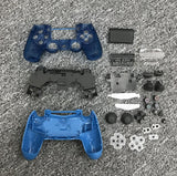 made in china replacement case housing for ps4 slim pro 4.0 jdm-040 wireless controller touch with light