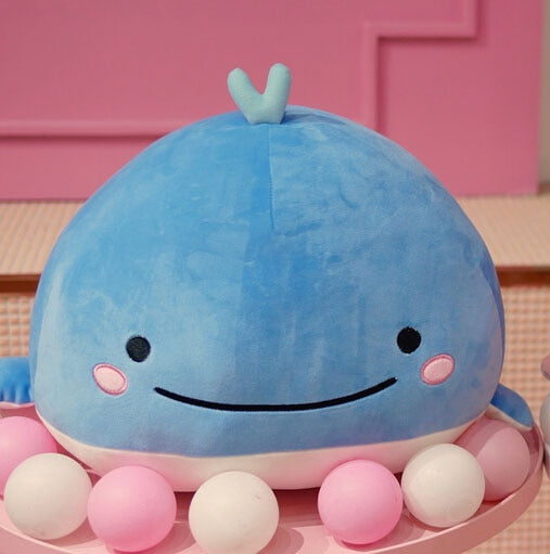 15CM Cute Down cotton whale plush toy super soft dolphin pillow Stuffed toys high quality Aquatic creatures birthday gift