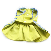 Armi store Flower Pattern Dog Dresses Princess Dress Dogs 6071055 Pet Supplies ( Dress + Hat + Panties + Leash = 1set