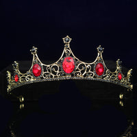 Gorgeous Crystal Bridal Tiara Crown Bride Headbands Women Girl Headpiece Prom Hair Ornaments Wedding Head Jewelry Accessories