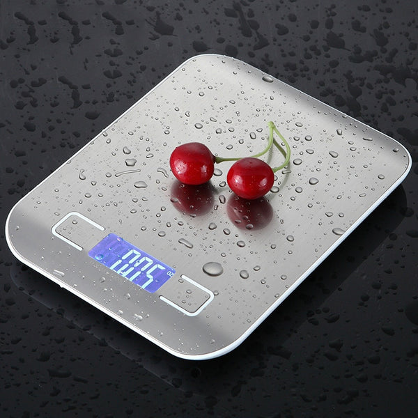 10kg Household Kitchen Scale Electronic Food Scales Diet Scales Measuring Tool Slim LCD Digital Electronic Weighing Scale XNC