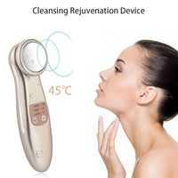 Mini Rejuvenation Beauty Massager Facial Firming Lifter Hot Compression Essence Wrinkle Deep Peel Cleansing Skin Beauty Tool