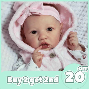 [2rd 20% OFF] 12'' Realistic Reborn Baby Doll Girl Stacey