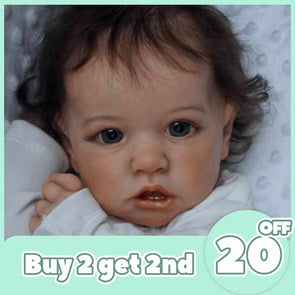 [2rd 20% OFF] 12'' Realistic Sweet Cute Reborn Baby Girl Doll Kinley