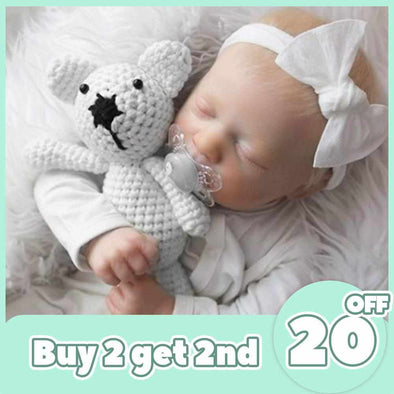 "[2rd 20% OFF] 12"" Torres Realistic Reborn Baby Girl Doll"