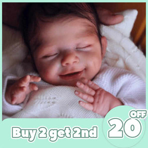 [2rd 20% OFF] 12'' Elena Reborn Baby Doll, Realistic Lifelike Toy for Kid Gift