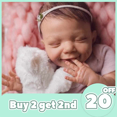 [2rd 20% OFF] 12'' Scarlet Reborn Baby Doll