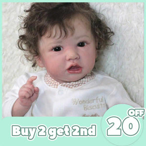 [2rd 20% OFF] 12'' Realistic Sweet Reborn Baby Girl Doll Alina