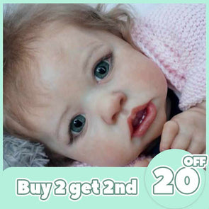 [2rd 20% OFF] 12'' Realistic Sweet Reborn Baby Girl Doll Brynlee