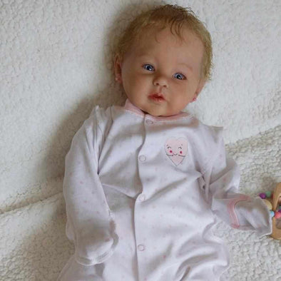 Realistic 20'' Little Cute Angelica Reborn Baby Doll Girl- So Truly Lifelike Baby