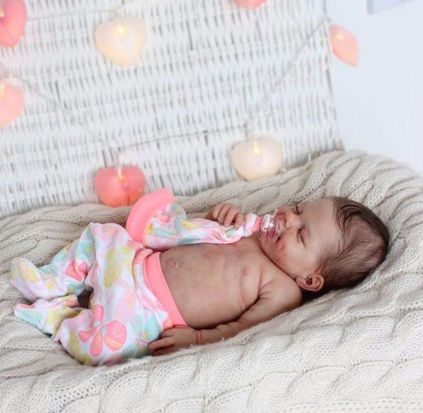 "[BIG SALE][Heartbeat & Sound] 20"" Teresa Truly Reborn Baby Doll Girl with Coos and ""Heartbeat"""