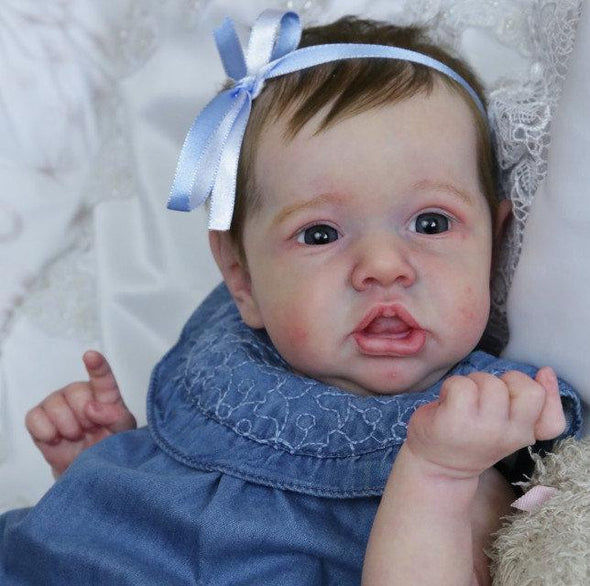 "22"" Veronica Realistic Cute Reborn Baby Girl Doll, Gift"