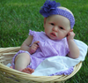 "22"" Bald Sariah Reborn Baby Toy Girl"