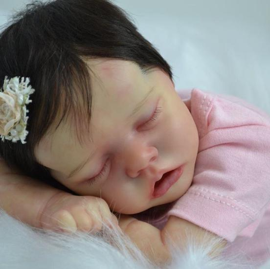 "17inch"" Sleep Tight Tessa ""Truly Reborn Baby Girl Doll, Gift"