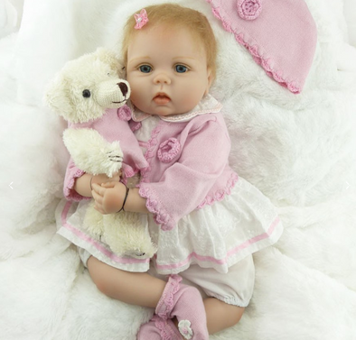 22 inch Amia Reborn Baby Toy Girl