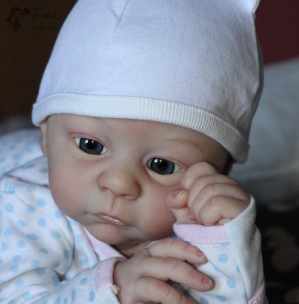 21inch Audrey Realistic Reborn Baby Girl Doll,Birthday Gift