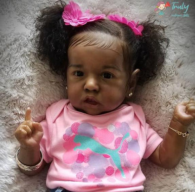 "22"" Tess Truly Reborn Baby Doll Girl"