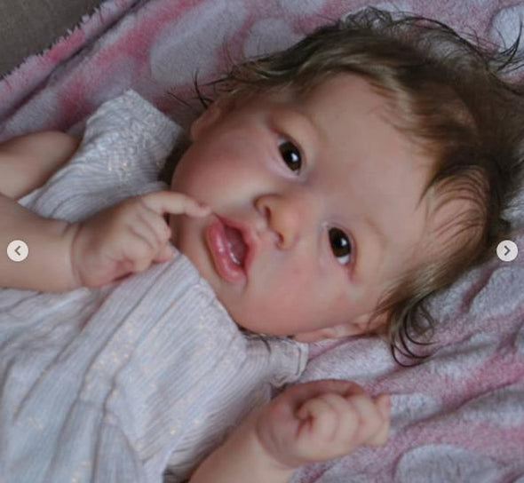 "22"" Catalina Truly Reborn Baby Doll Girl"