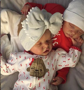 "20"" Twins Sister Jacqueline and Irma Reborn Baby Doll Girl"