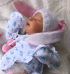 "17.5"" Jerome Truly Reborn Baby Girl Toy"