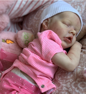 "17"" Sweet Sleeping Dreams Reborn Twins Sister Patricia and Ophelia Truly Baby Toy Girl, Birthday Gift"