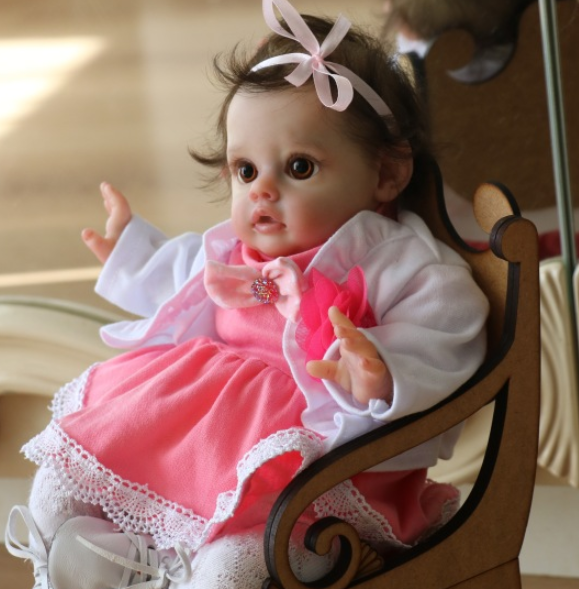 [2rd 20% OFF] 12 inch Genevieve Truly Fairy Reborn Baby Girl Toy