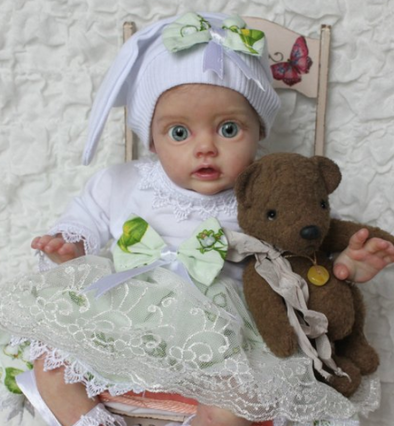 [2rd 20% OFF] 12 inch Basia Truly Reborn Baby Girl
