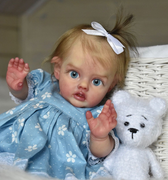 [2rd 20% OFF] 12 inch Frederica Truly Fairy Reborn Baby Girl