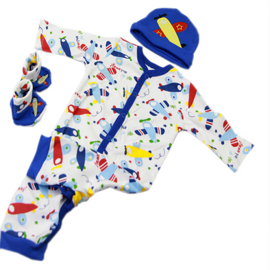 Cool Toy Clothing Suit for 20-22 inch Reborn Baby Toy
