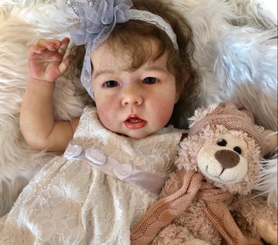 "20"" Blanche Gorgeous Realistic Reborn Baby Girl"