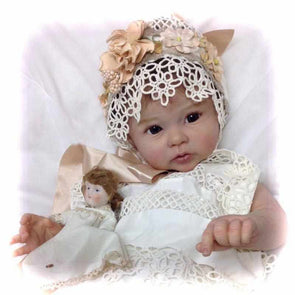 Realistic 20'' Little Cute Annot Reborn Baby Doll Girl- So Truly Lifelike Baby