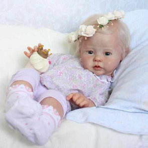 Realistic 20'' Little Cute Shirley Reborn Baby Doll Girl- So Truly Lifelike Baby