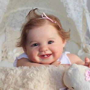 17 '' Truly Reborn Baby  Doll Juliana