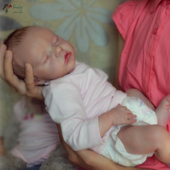 "[Special Discount] 17"" Macy Reborn Doll Girl with Coos and ""Heartbeat"""