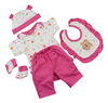 Cute Doll Clothing Suit for 17 inch Reborn Baby Doll