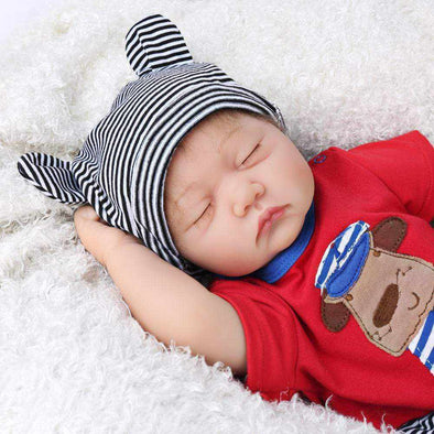 22 inch Little Michael Reborn Baby Doll Boy 22 inch caucasian cloth reborndollsshop