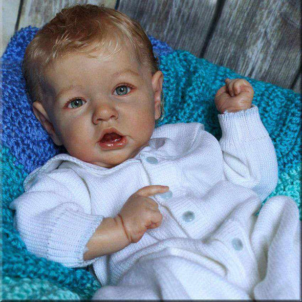 "22"" Abriana Truly Lovely Baby Doll Boy, Lifelike Handmade Toys Birthday Gift"